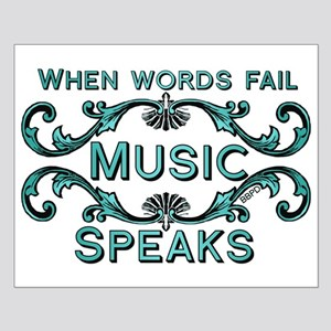 Music Speaks Posters